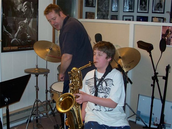 The Boy and the Saxophone