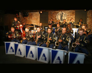 Army Blues Saxes