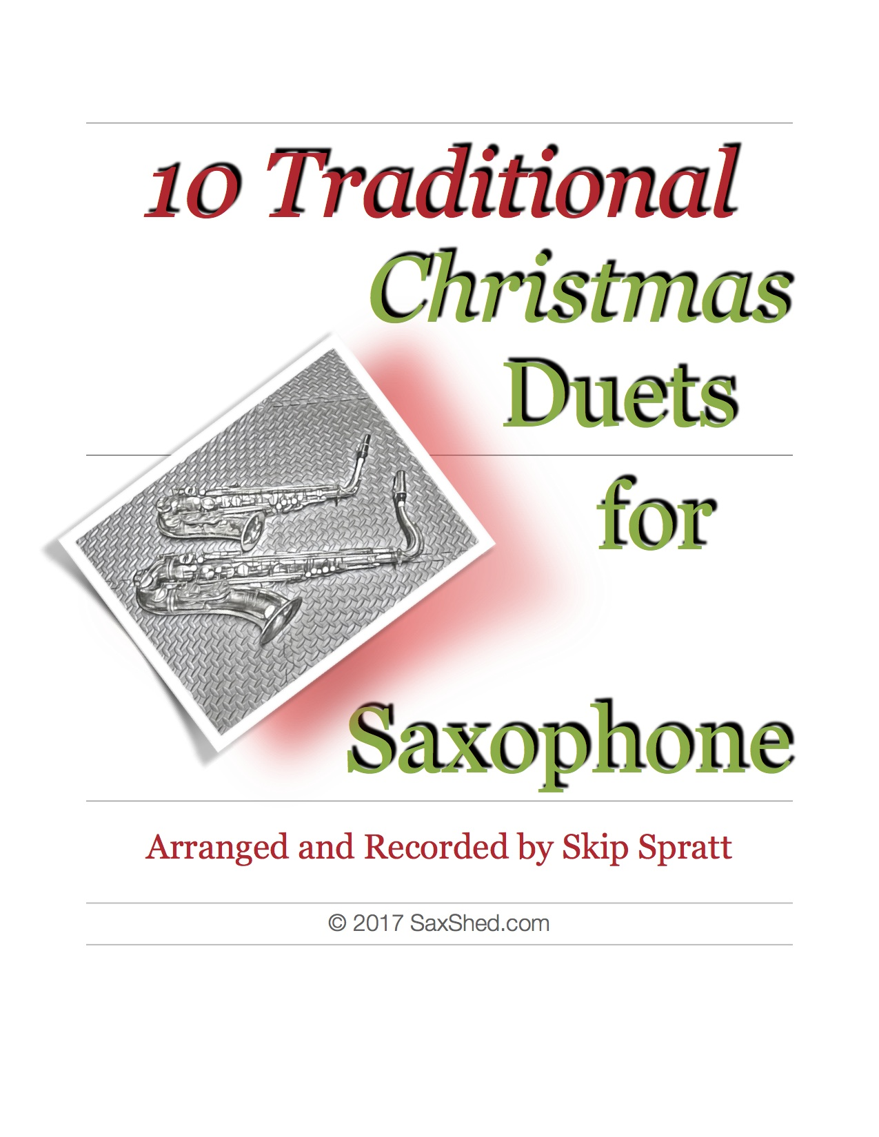 Christmas Duets.Christmas Duets For Sax