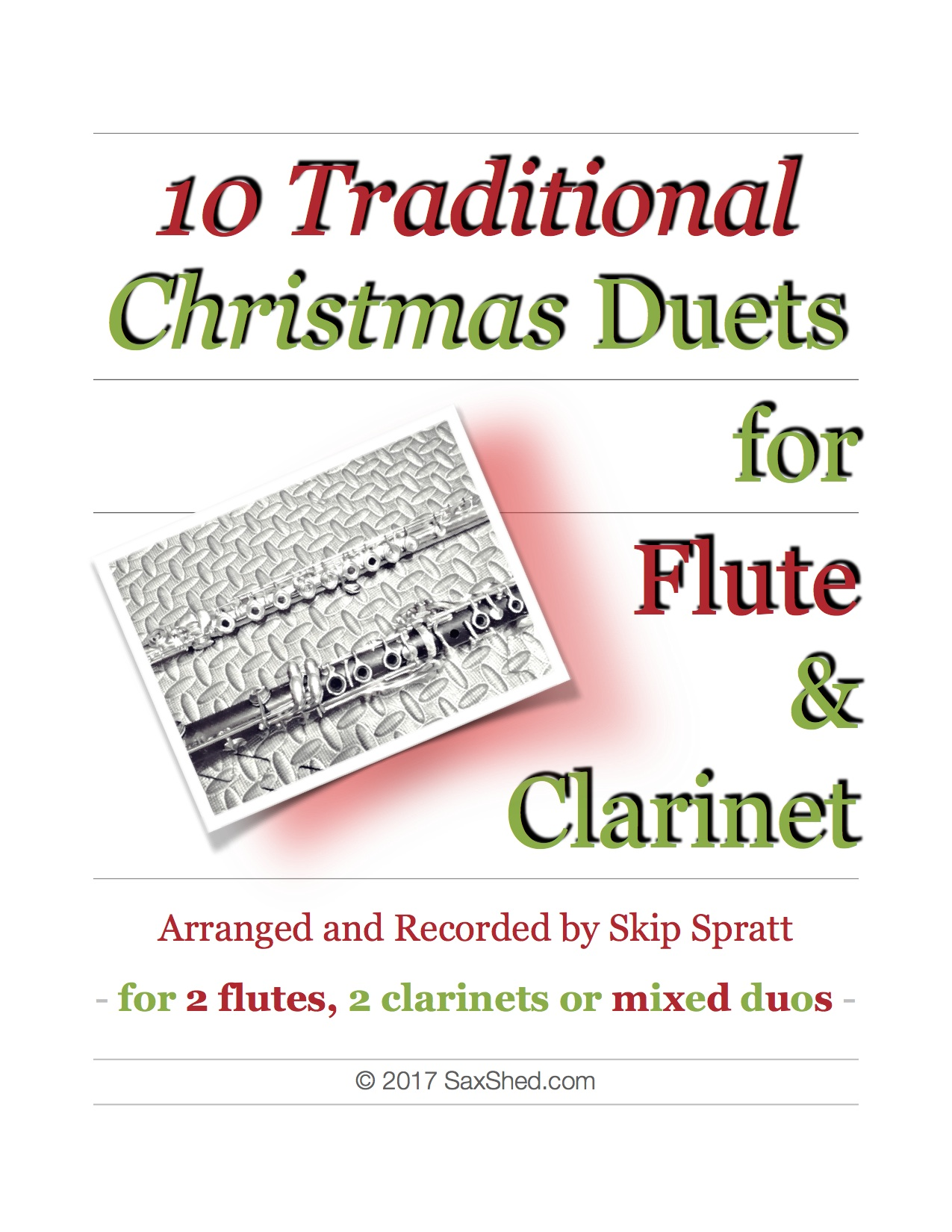 Christmas Duets.Christmas Duets Flute Clarinet